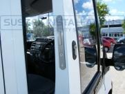 Drivers door open showing deadlock. - Ford - Transit - Transit MK7 (07-2014) - Locks 4 Vans T SERIES VAN DEADLOCKS GENERAL - Online Shop & Worldwide Delivery - Sussex - London & The South East