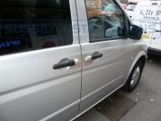 Mercedes - Vito / Viano - Vito/Viano (W639, 2004 - 2015) - Armaplate SENTINEL VAN HANDLE GUARDS -   - Sussex - London & The South East