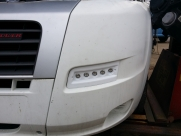 Fiat Ductato led day running lights, nearside turned off  - Fiat - Ducato - Ducato - (2006 - 2011) - Lighting Fiat Ducato LED DRL - Maidstone - KENT