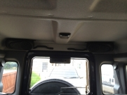 Pioneer box speakers roof mounted - Land Rover - Defender - Van Conversions - WITNEY - OXFORDSHIRE