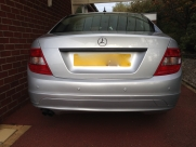 Mercedes C Reverse Parking Sensors - BLACKPOOL - LANCASHIRE