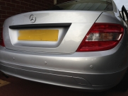 Mercedes - C-Class (01/2010) - Mercedes C Reverse Parking Sensors - BLACKPOOL - LANCASHIRE