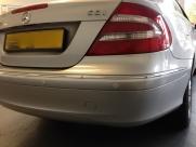 Mercedes - CLK-Class (01/2003) - Mercedes CLK Reverse Parking Sensors - BLACKPOOL - LANCASHIRE
