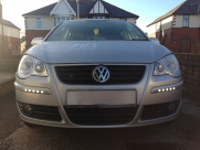 VW Polo DRL daylight running lights - BLACKPOOL - LANCASHIRE