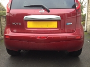 Nissan Note Reverse Parking Sensors - BLACKPOOL - LANCASHIRE