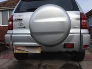 Toyota RAV4 Reverse Parking Sensors - BLACKPOOL - LANCASHIRE
