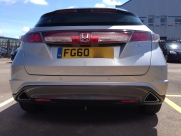 Honda Civic Reverse Parking Sensors - BLACKPOOL - LANCASHIRE