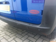 4 sensor heads spaced out across the full width of the bumper - ParkSafe PS740 - YATELEY - HAMPSHIRE