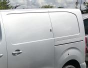 Deadlock fitted to side door of 2017 Toyota Proace (same as Citroen Dispatch & Peugeot Expert) - TVL T Series Deadlock - YATELEY - HAMPSHIRE