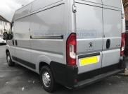 Peugeot Boxer 2019 - Deadlocks and Pro Plate Installation - Locks 4 Vans T SERIES DEADLOCKS - PEUGEOT - Online Shop & Worldwide Delivery - Sussex - London & The South East