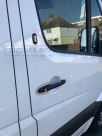 2 x Security items in this picture! 1) T Series deadlock 2) Pro Plate handle shield - Mercedes - Sprinter - Sprinter (W906, 2014 - on Facelift) - Locks 4 Vans T SERIES DEADLOCKS - MERCEDES -   - Sussex - London & The South East