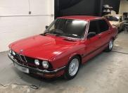 1986 BMW 535i alarm system - Hornet Maxx 1 - YATELEY - HAMPSHIRE