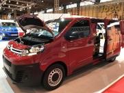Citroen Dispatch 2017 - Commercial Vehicle Show - New 2017 Van Models - Eastbourne - Sussex