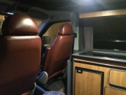 VW - Transporter / Caravelle (09/2005) - VW TRANSPORTER T5 CAMPER INTERIOR LIGHTING INSTALLATION - CHATHAM - KENT