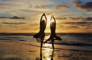 Yoga on the beach - Jandia - Morro Jable - Fuerteventura - Canary Islands
