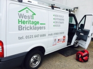 After the install; West Heritage Bricklayers Birmingham - Ford - Transit - Transit MK7 (07-2014) - Locks 4 Vans T Series Deadlocks -   - West Midlands - Birmingham, Worc