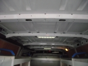 This Renault Master had the following fitted: - Ply lining - Sortimo racking - Hand wash system - Wisadec non-slip floor - Interior lighting - Lighting  - BRISLINGTON - Bristol- Gloucester - Somerset
