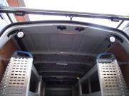 This Renault Master had the following fitted: - Ply lining - Sortimo racking - Hand wash system - Wisadec non-slip floor - Interior lighting (LED strip lights and work lights) - Lighting  - BRISLINGTON - Bristol- Gloucester - Somerset