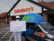 The #TakeOverTheWorld Challenge - Eastbourne - Sussex - Surrey - London