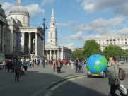 Orbee visits London #TakeOverTheWorld #WatchTheWorldGoBy - Eastbourne - Sussex - Surrey - London