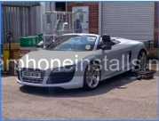 Audi R8 spider Cat 5 tracker installation -  - NEWBURY - BERKSHIRE