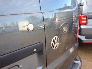 Slamlock fitted to the rear door of a Volkswagen Transporter (65 plate) - Volkswagen - Locks 4 Vans T Series Slamlocks - BRISLINGTON - Bristol- Gloucester - Somerset