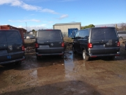 Slamlocks fitted to a fleet of brand new VW Transporters - Volkswagen (09/2015) - Locks 4 Vans T Series Slamlocks - BRISLINGTON - Bristol- Gloucester - Somerset