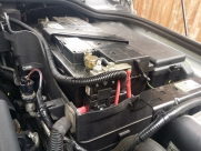 Main battery connection and fusing - Land Rover - Discovery - Series 4 2009> (null/200) - Split charging Inverter installation - Maidstone - KENT