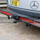 Hope Safe T Bar With Tow Hitch - Van Steps and Bars - NEWBURY - BERKSHIRE