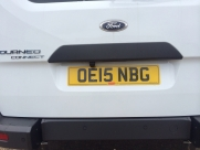Camera mounted above number plate, Ford Tourneo Connect - Parking Sensors - YATELEY - HAMPSHIRE