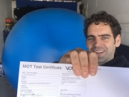 Now passed it's MOT! - Creating Orbee O - #takeovertheworld #watchtheworldgoby - Eastbourne - Sussex - Surrey - London
