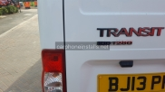 Ford - Transit - Transit MK7 (07-2014) (null/nul) - Ford transit dead locks installed on site - NEWBURY - BERKSHIRE