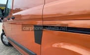 Transit Custom L4V shield. Door protection  - Van Locks - NEWBURY - BERKSHIRE
