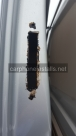 Anti corrosion waxoil applied to lock case aperture  - Van Locks - NEWBURY - BERKSHIRE
