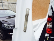 Rear Barn Door, Lock Bolt - Peugeot - Partner - Partner - (2008 - 2018) - Locks 4 Vans T Series Deadlocks - YATELEY - HAMPSHIRE