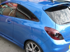 Llumar Medium Window Tinting tint B post rear DURHAM