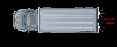 ifitstuff Premium Reverse Alarm Vehicle reversing warning beeper for HGV  Heavy Goods Vehicle  Lorry  Truck Cambridgeshire