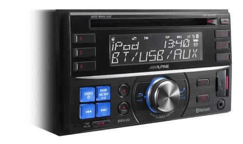 Alpine CDE-W235BT 2DIN CD Receiver with Advanced Bluetooth Anglesey & Gwynedd