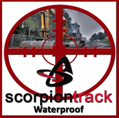 ScorpionTrack ST60 Waterproof  GPS Tracking System Waterproof insurance approved stolen vehicle tracking system HERTS