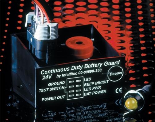 Intellitec K14 24 volt Battery guard tail lift NORTHUMBERLAND