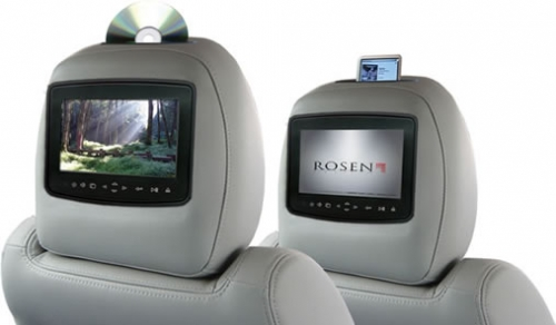 Rosen AV7900 Quick-Change Multi-media Headrest KENT