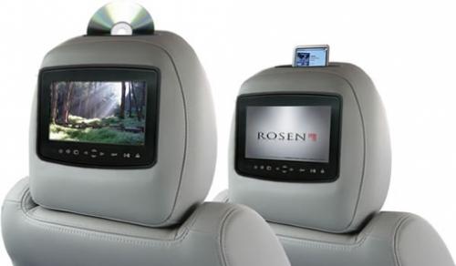 Rosen AV7900 Quick-Change Multi-media Headrest GREATER MANCHESTER
