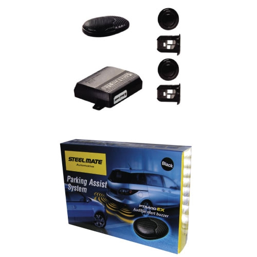Steelmate PTS400EX Rear Fully fitted reverse parking sensors  audio only OXFORDSHIRE