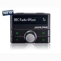 Alpine EZI-DAB digital radio DIGITAL RADIO GREATER MANCHESTER
