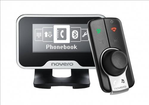 Novero THE TRULY ONE Bluetooth handsfee Novero iphone music streaming handsfree car kit HERTS