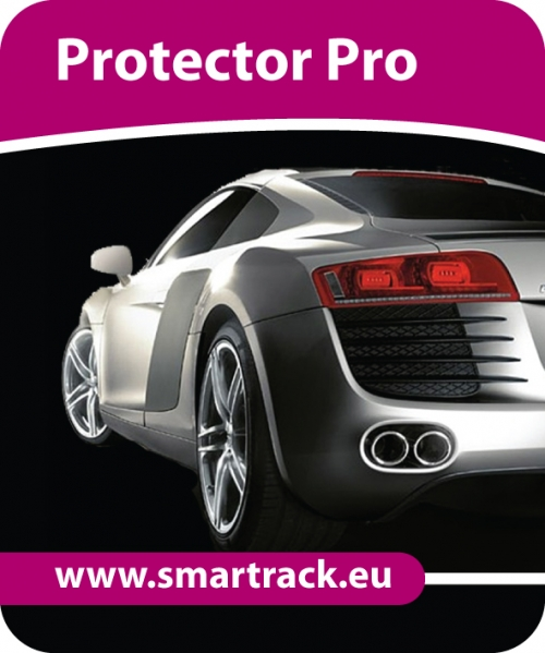 Smartrack Protector Pro vehicle tracking system. Fully fitted Smartrack Protector Pro tracking unit ESSEX