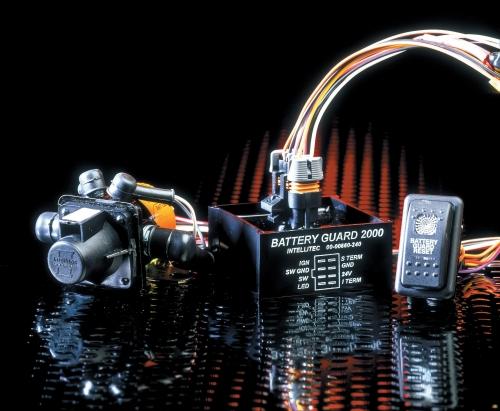 Intellitec BG2000 100 amp Battery voltage monitor NORTHUMBERLAND