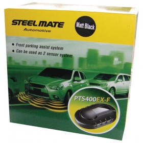 Steelmate PTS400EX-F Fully fitted 4 sensor front front parking sensors audio only MIDDLESEX