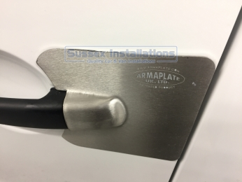 Armaplate SENTINEL - CITROEN BERLINGO (2008 - 2018) Bolt on Armaplate Sentinel door lock protectors Sussex - London & The South East
