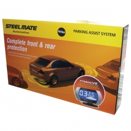 Steelmate PTS800V2 Fully fitted front  and rear parking sensors with display LANCASHIRE